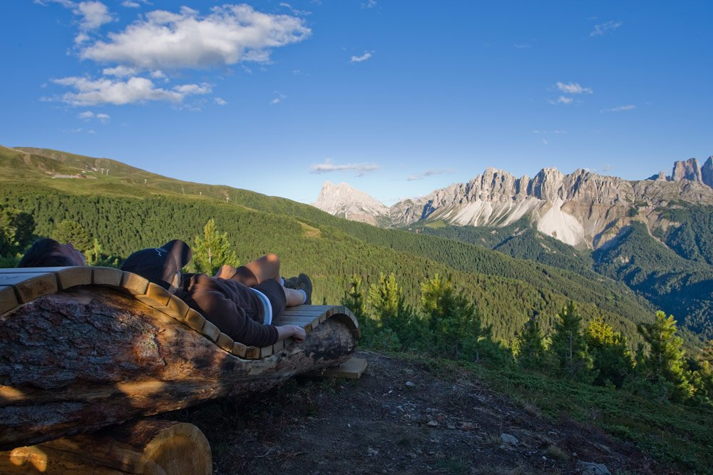 Escursione circolare sulla Plose, 2486 m, con vista panoramica